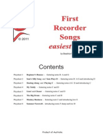 Recorder Duets
