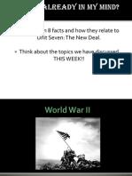 world war ii - spring 2011