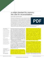 Marcado a Single Standard for Memory