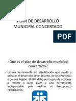 Plan de Desarrollo Municipal Concertado
