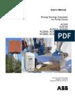 Pump Save User Manual