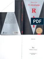 Robert Grin - Rat 33 Strategije