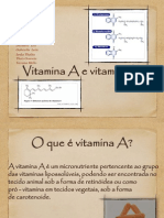 Trabalho de Vitamina a e K