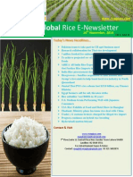 14th November 2014 Daily Global Rice E-Newsletter by Riceplus Magazine