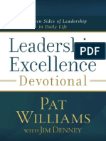 Leadership Excellence Devotional - Excerpt