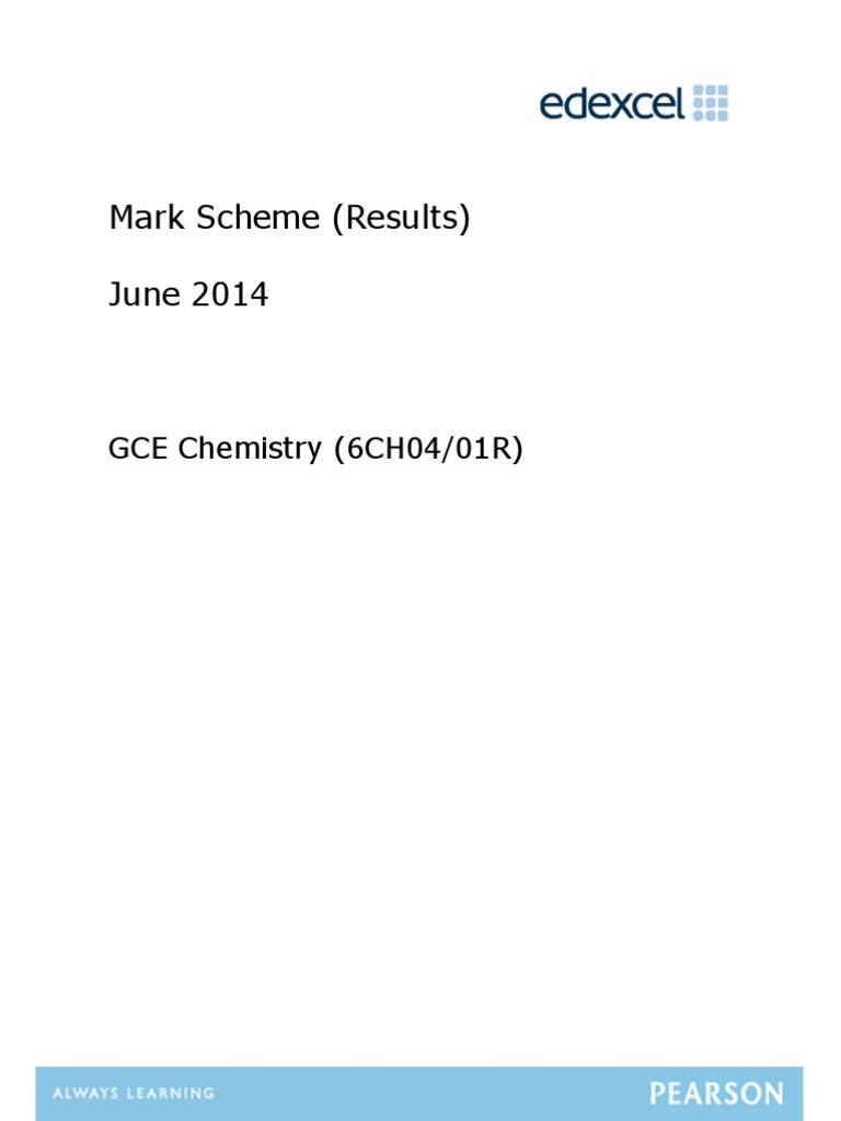 a level chemistry coursework mark scheme Aqa alevel chemistry june 2013 mark schemepdf answers 2010 a level math paper 2 answers tangent answers saxon math 6th grade course 1 answers directed a.