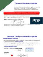 Quantum Harmonic Crystals.10_27