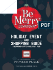 Be Merry Holiday Event & Shopping Guide