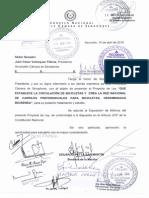 Proyecto de Ley Bicisendas - Petta