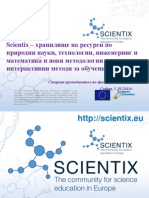 Scientix - Repository of Resources in STEM and a Source of New Methodologies and Interactive Teaching Methods