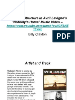 Narrative Structure in Avril Lavigne's 'Nobody's Home