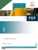 ENEVA Corporate Presentation ? November 2014