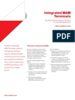 Vodafone M2M Integrated M2M Terminals Overview Brochure