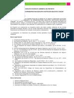 DECLARACION DE IMPACTO AMBIENTAL - MEJORAMIENTO  DE  INFRAESTRUCTURA  EDUCATIVA  INSTITUCIÓN  EDUCATIVA CHACÁN