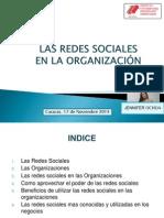 Las Redes Sociales en La Organización