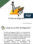 1 El Plan de Negocios