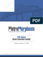 MetroMorphosis Social Innovation Summit
