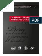 Coleccion Jorge Carpizo 1. El Pensamiento Laico de Benito Juarez
