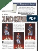 Euromodelismo Figuras - 01 - Zuavo Confederado