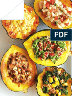 Acorn Squash Stuffed Five Ways