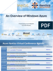 An Overview of Windows Azure