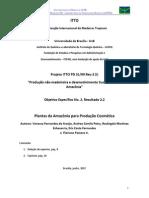 2.2 Plantas Da Amazônia Para Produção Cosmética