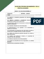 Evaluacion Del Proceso Docente Unidad 6
