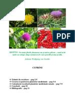 Recoltarea, uscarea si pastrarea plantelor medicinale - Banu Ioana.docx