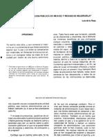 Sobre La Administración Pública de México y Los Medios de Mejorarla-Luis de La Rosa
