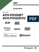 MANUAL PIONNER (Avh-p6350bt - Avh-p5350dvd)-Por