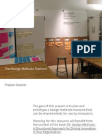 Using Design Methods to Create a Design Methods Educational Platform
