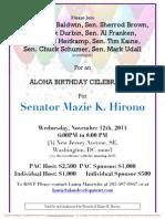 Aloha Birthday Celebration