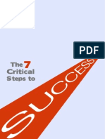 7 Critical Steps to Success