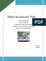 Actividad 1 Eje 4 Deficit de Atencion