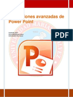 aplicaciones avanzadas de power point