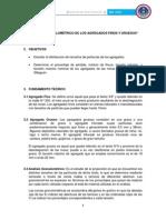 Informe 2 Granumlometria Minas Cerro Negro y Cillaguan