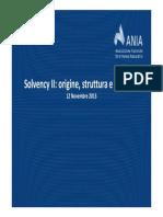 Solvency II Origine Struttura e Sviluppo