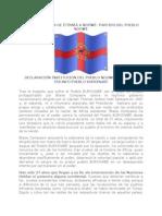 DECLARACIÓN INSTITUCIÓN DEL PUEBLO NDOWÉ, A RAÍZ DEL  TRIUNFO PUEBLO BURKINABÉ