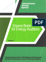 Source Book for Energy Auditors