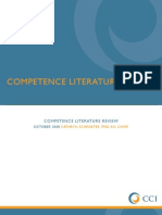 Competence Lit Review[1]