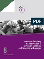 Incentivos Fiscales y su Relación con La Iey en Guatemala y Nicaragua