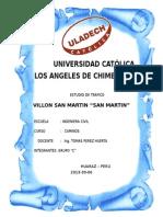 Informe de Trafico ... San Martin