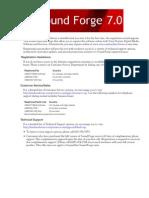 SoundForge 7.0 Manual