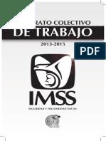 Contrato Colectivo de Trabajo 2013 2015 IMSS