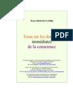 Essai Conscience