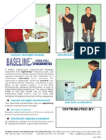 Baseline Push Pull Dynamometer User Manual