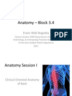 Clinically Oriented Anatomy BLOK 3.4