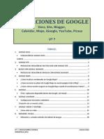 UT 7 Aplicaciones Google