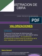 Administracion de Obra.