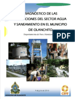 Diagnostico de Las Condiciones Del Sector Agua Olanchito Yoro PASOS III